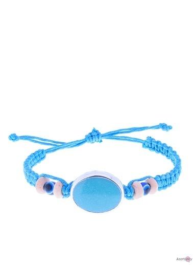 Asortishey Bileklik Mavi